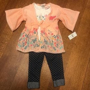 NEW NWT Baby Girl's 12 Months 3-Piece Set